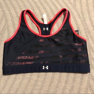 Under Armour Mid-impact Reversible Sports Bra NWT
